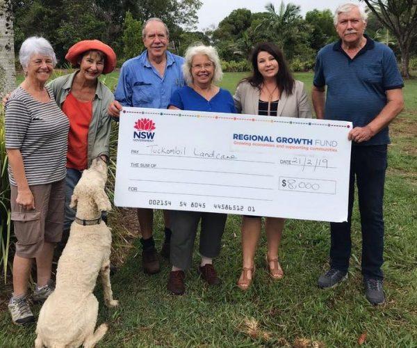 Tuckombil Landcare grant